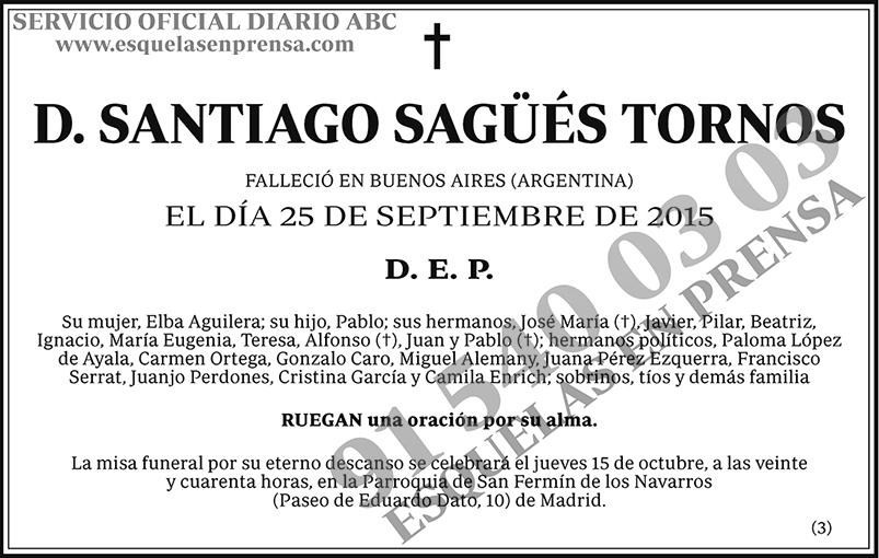 Santiago Sagüés Tornos